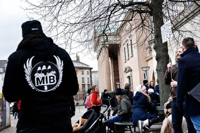 Danish lockdown protester jailed for two years after 'smash the city' call