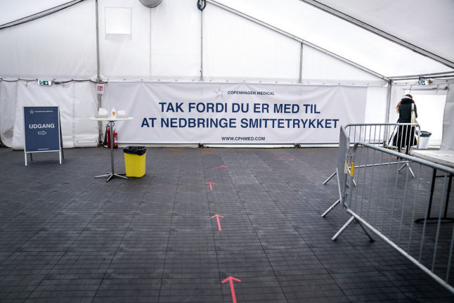 One month after first restrictions eased, what is status of Covid-19 pandemic in Denmark?