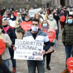 Protest in Denmark against plan to repatriate Syrians