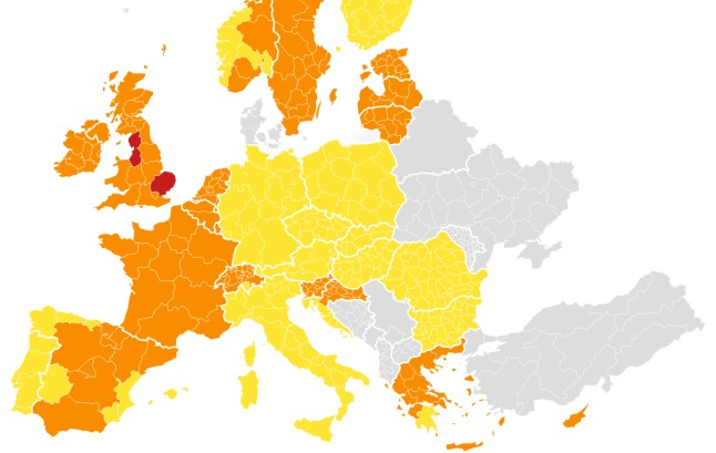 MAP: What are Denmark's Covid-19 travel rules for EU, Schengen countries, and the UK