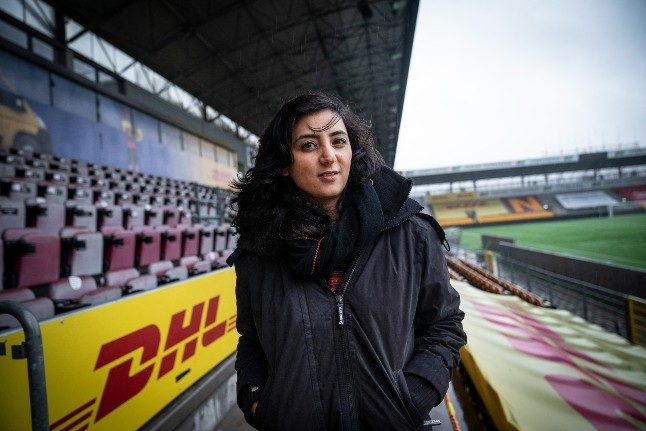 The Danish resident saving Afghanistan's women footballers one player at a time