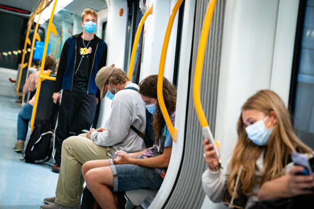 Denmark scraps face masks on trains and buses two weeks early