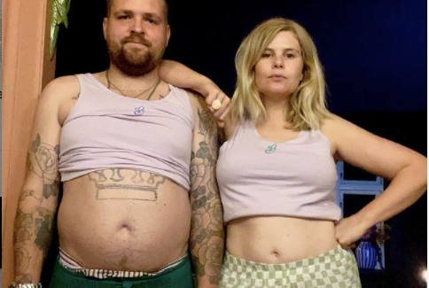 Explained: Why are people in Denmark posting pictures of their bare bellies?