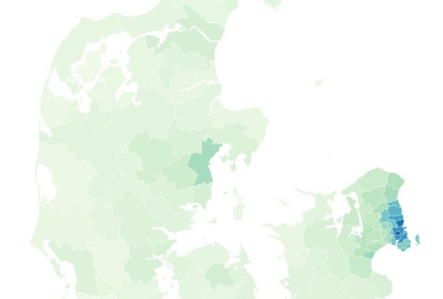 MAP: Where in Denmark do you need to earn a million kroner to buy a house?