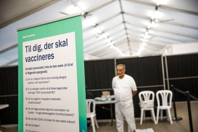 Covid-19: Denmark registers lowest daily infections in almost three months