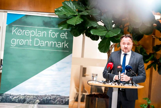 Why are critics calling Denmark's new climate plan 'unacceptable'?