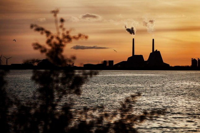 The Avedøre power plant near Copnehagen. Consumers in Denmark are paying the highest energy prices since 2012.