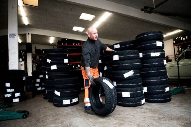 Driving in Denmark: When should you change to winter tyres?