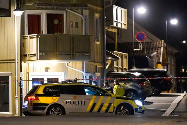 Police in Norwegian city Kongsberg on the evening of October 13th, after a 37-year-old Danish citizen killed five people and wounded two others in an attack using a bow and arrow.